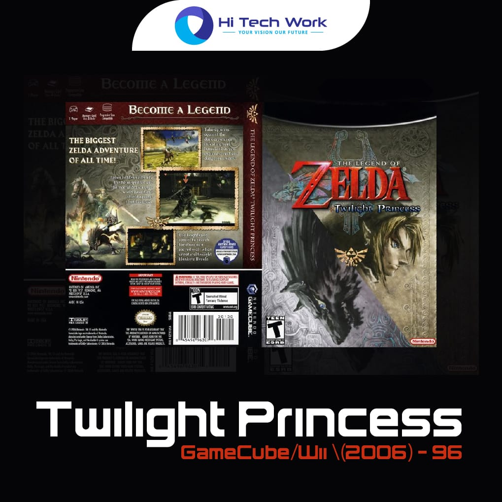 Twilight Princess - GameCubeWii (2006) - 96