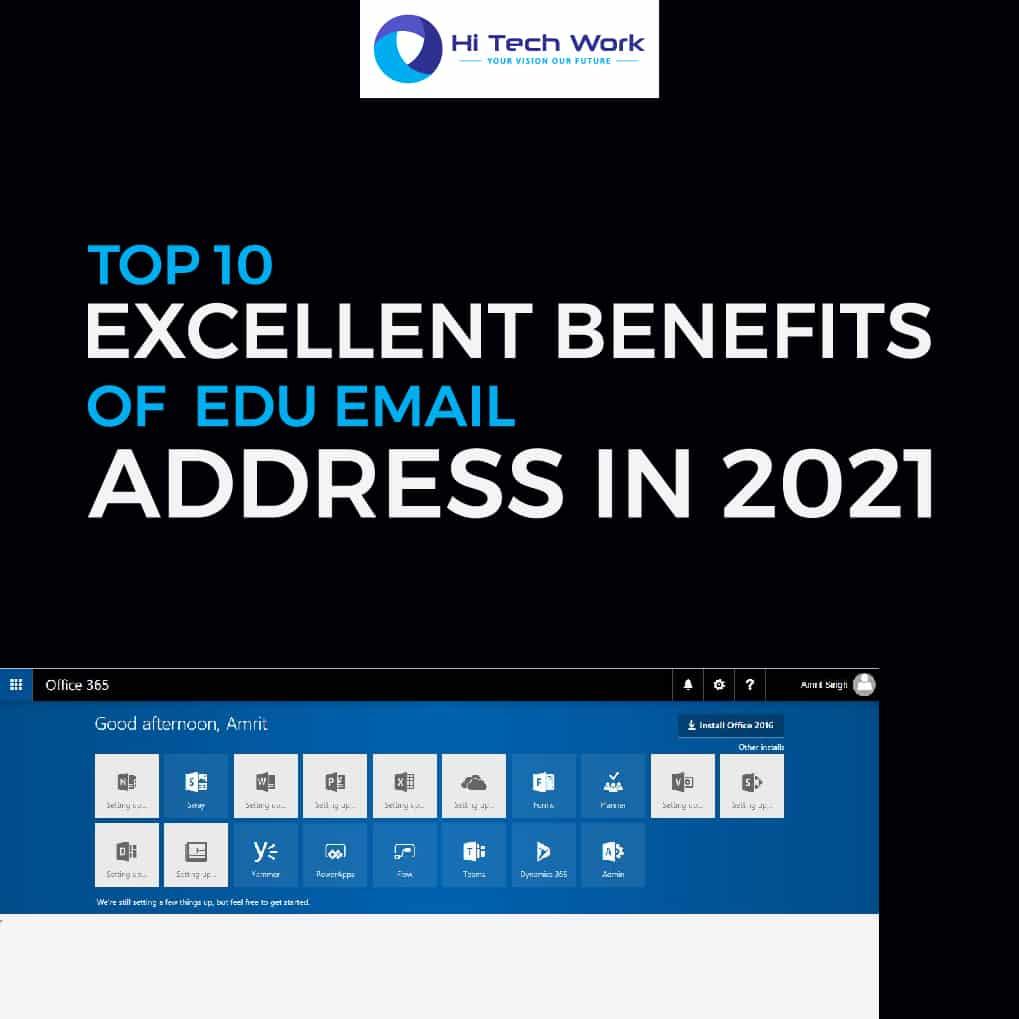 Benefits Of .Edu Email