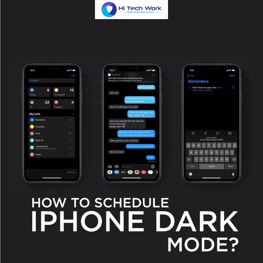 Dark Mode Iphone 10