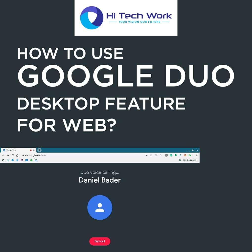 Duo Google Desktop