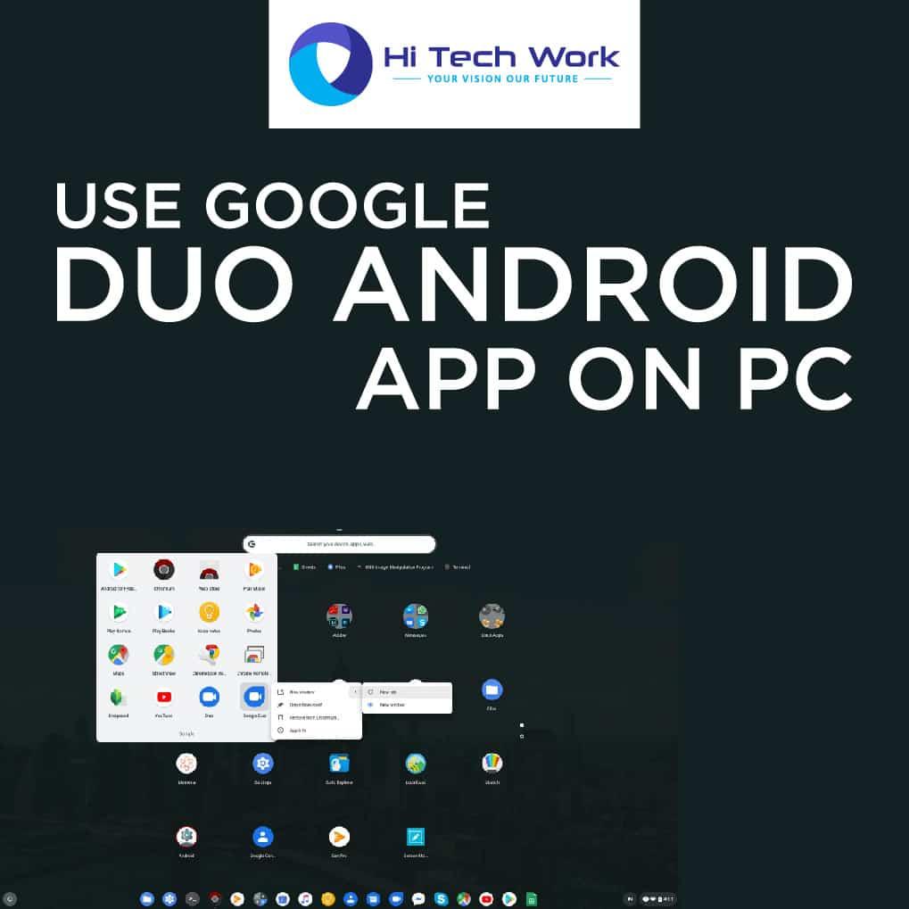 Google Duo On Desktop