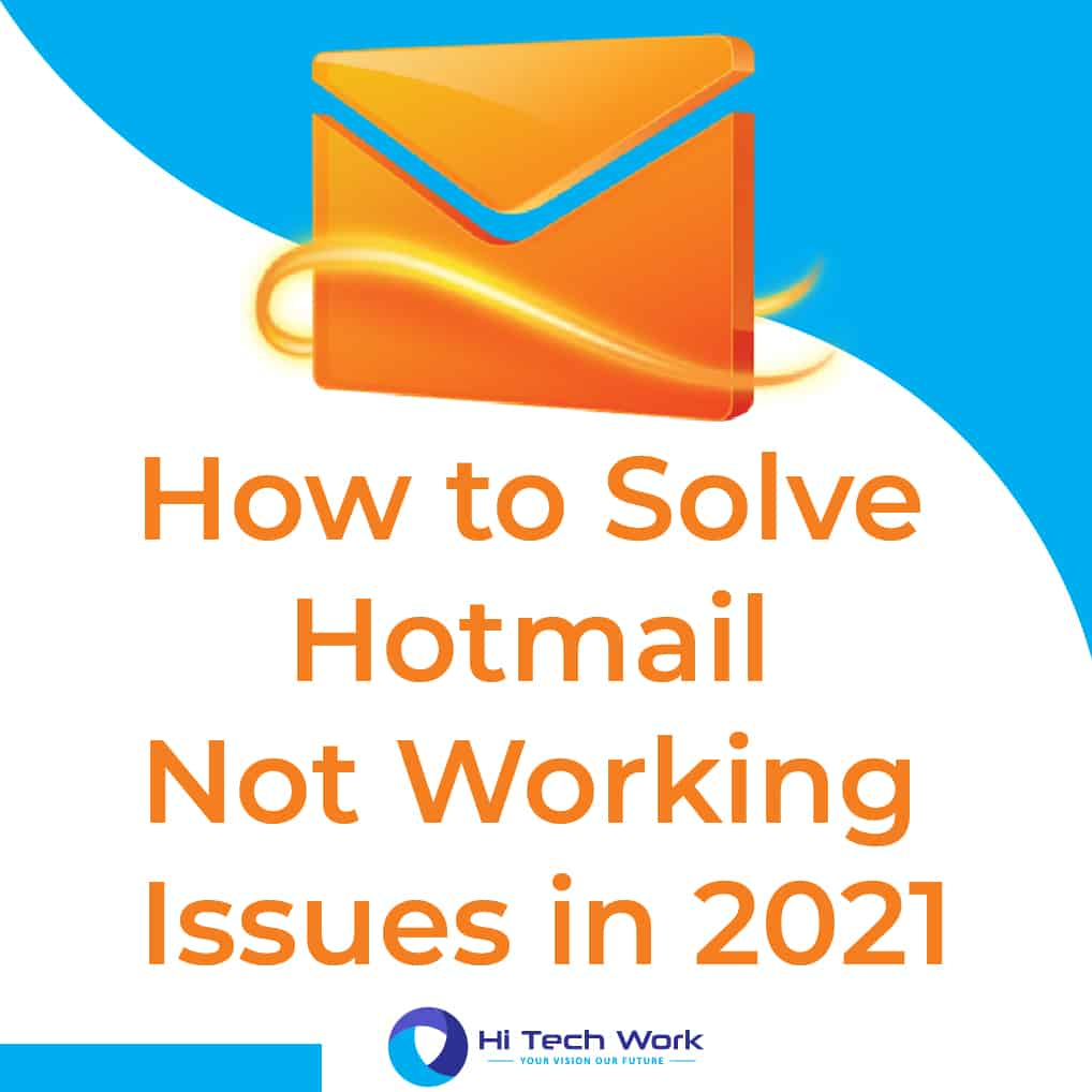 Hotmail Not Working