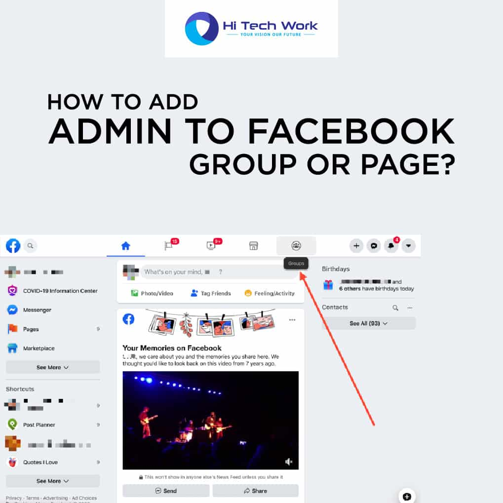 How To Add Admin On Facebook Group