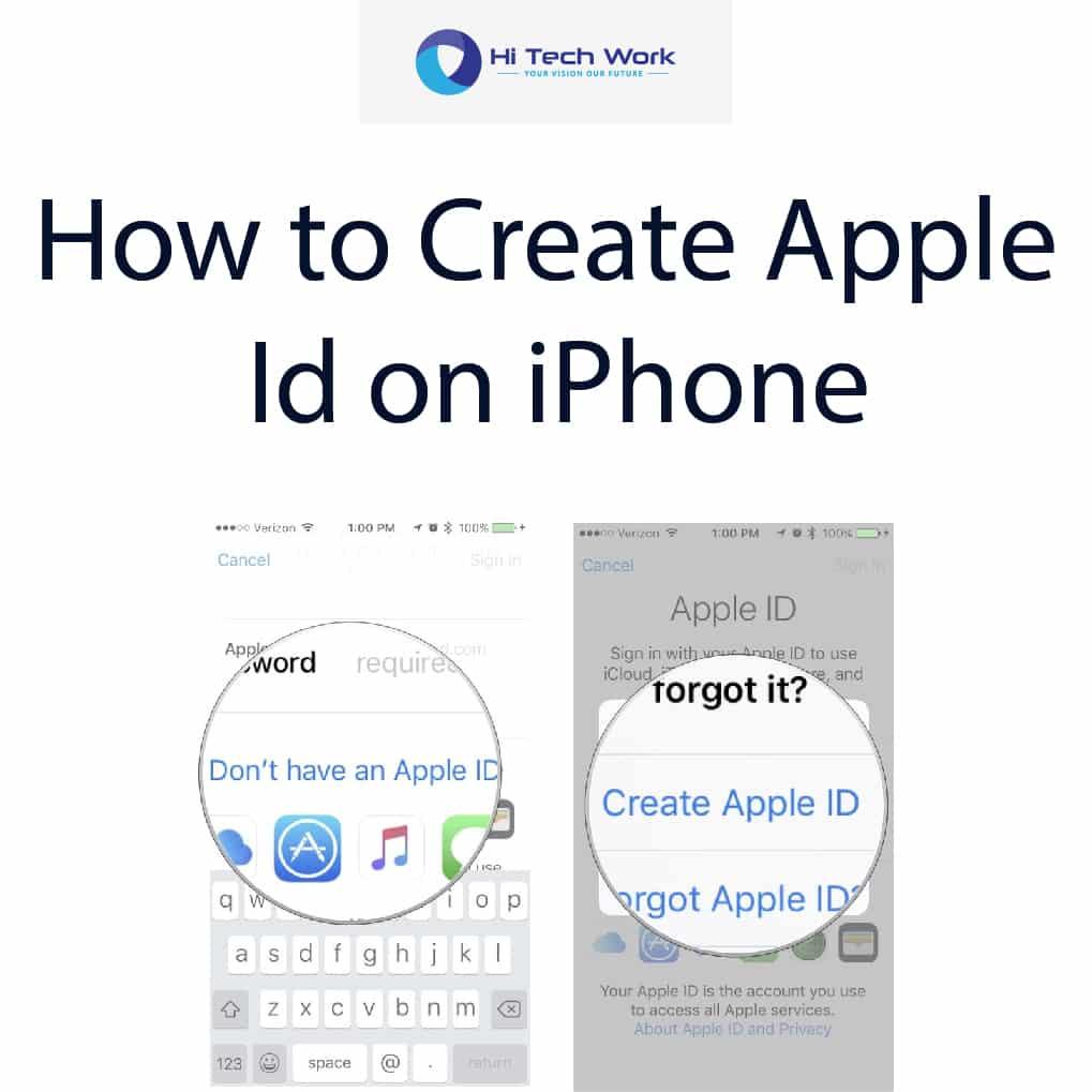 Apple Id Create