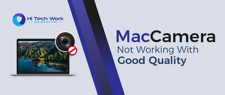 Camera Not Working Mac