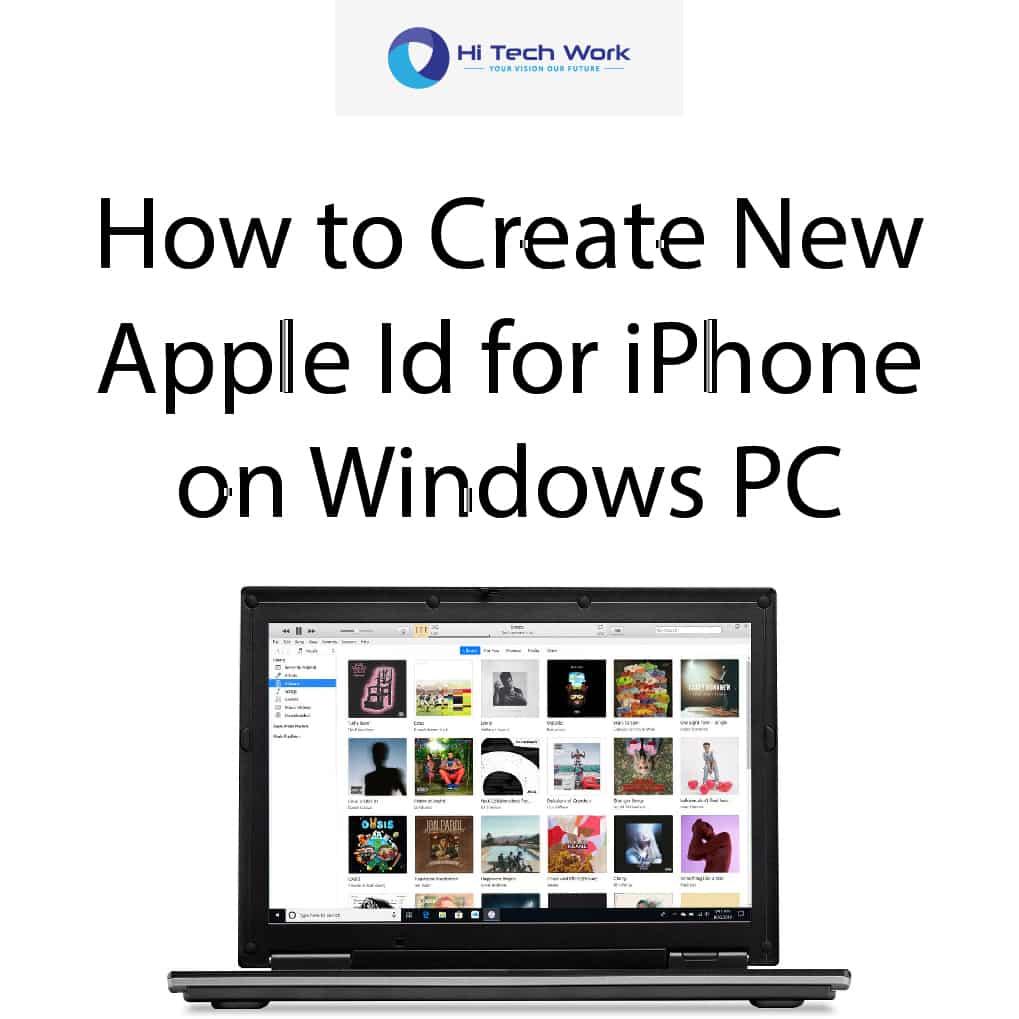Create Apple Id Online