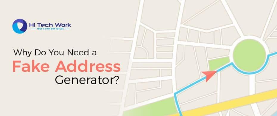 Fake Address Generator Us