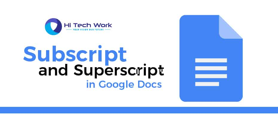 How To Add Superscript In Google Docs