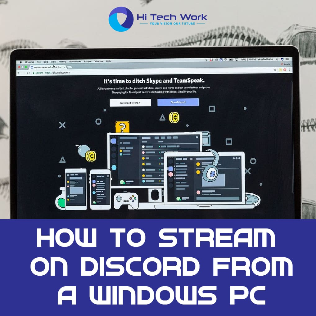 How To Live Stream On Discord