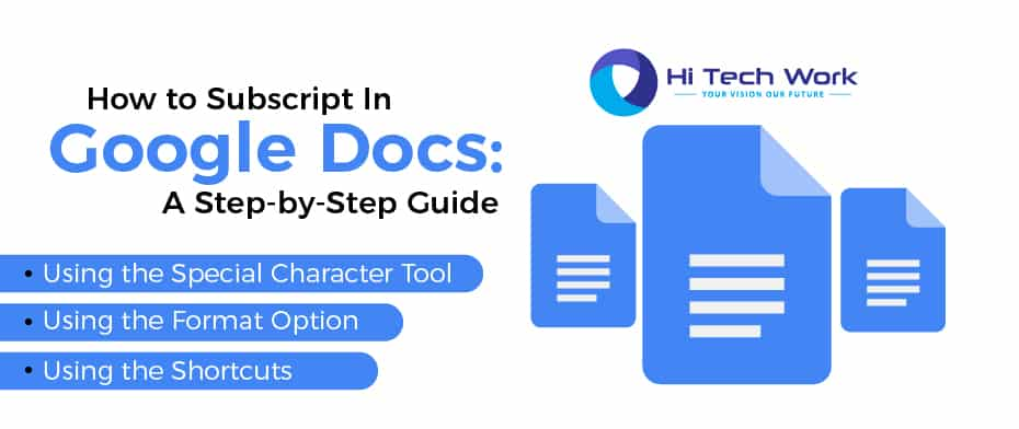 How To Make A Superscript In Google Docs