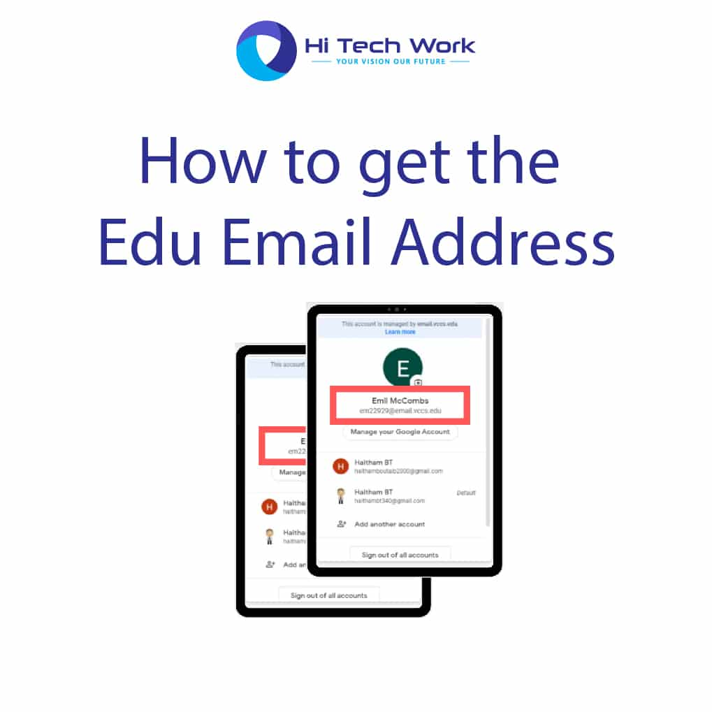 How to get the .Edu Email Address