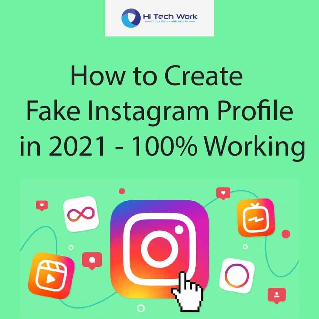 fake instagram profile maker