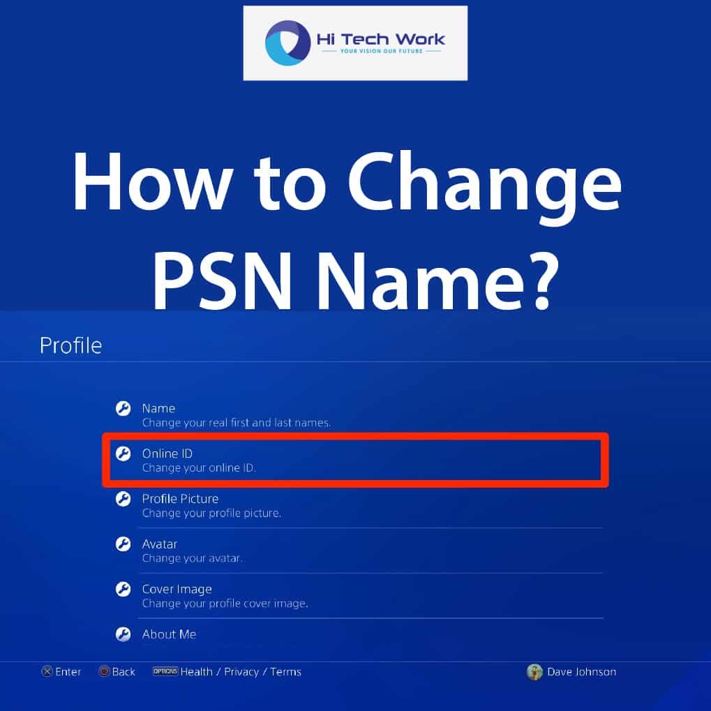 how to change psn name 2017