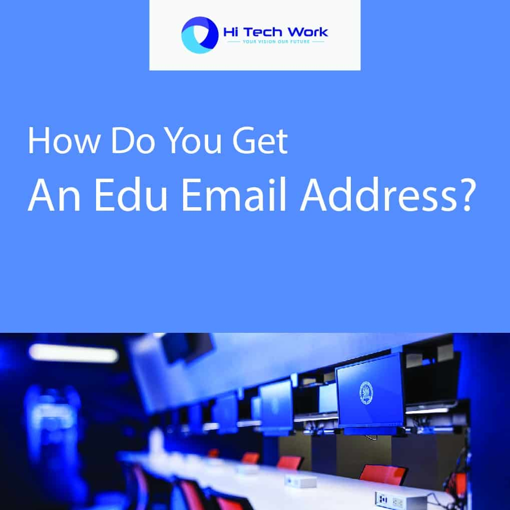how to get a .edu email