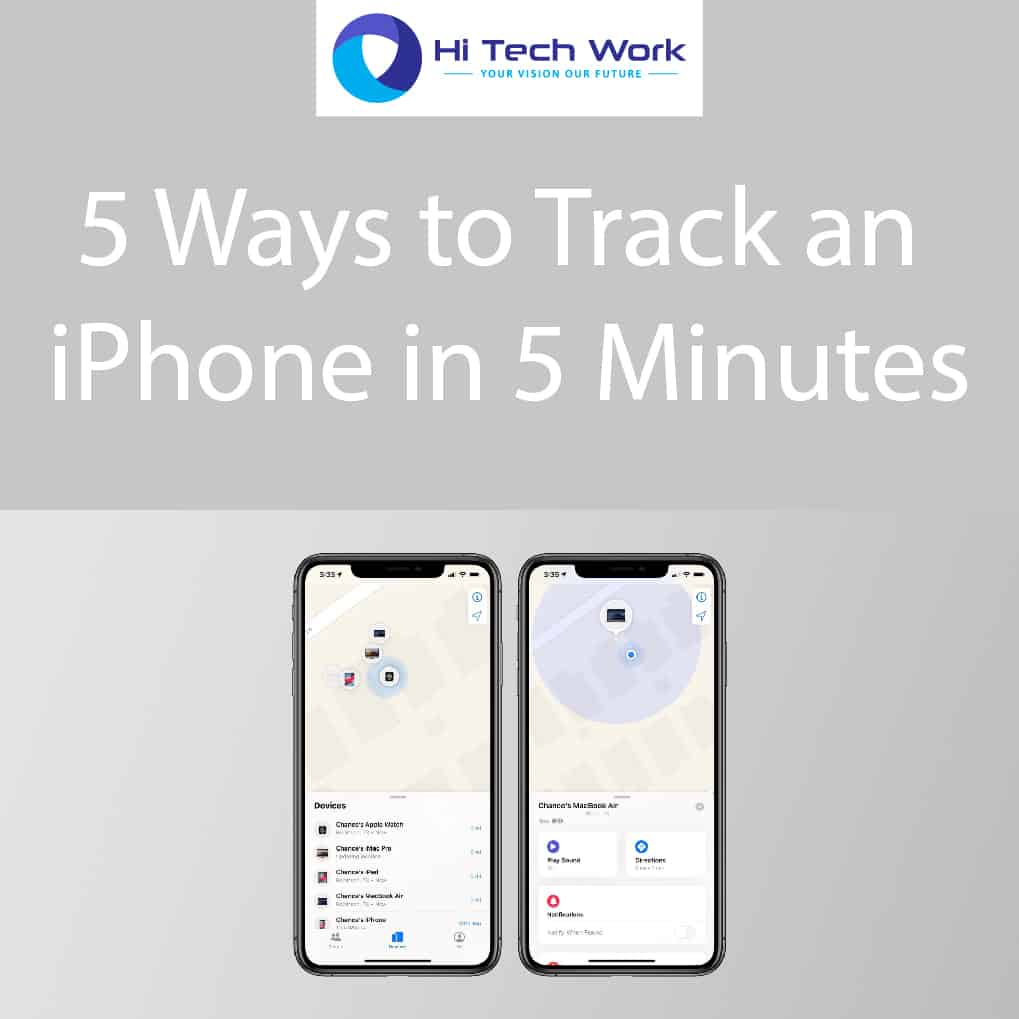 track an iphone