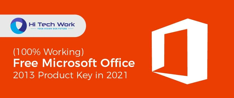 Find Office 2013 Product Key