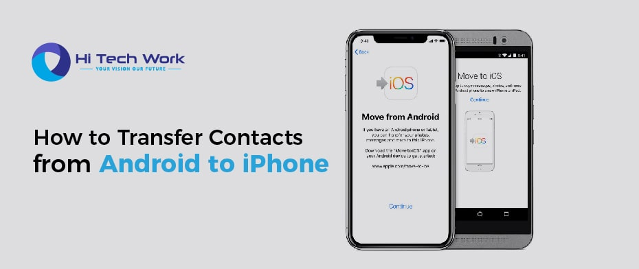 How Do I Transfer Contacts From Android To Iphone