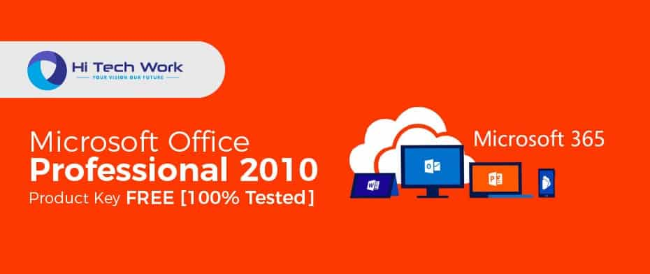 How To Activate Microsoft Office Professional Plus 2010 Without Product Key