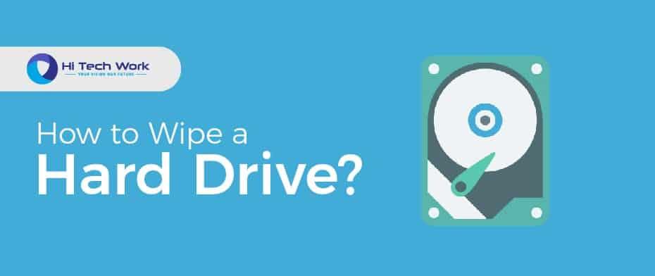 How To Wipe A Hard Drive Windows 10