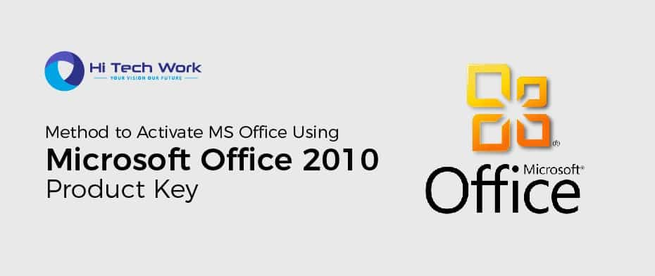 Microsoft Office 2010 Professional Plus Product Key