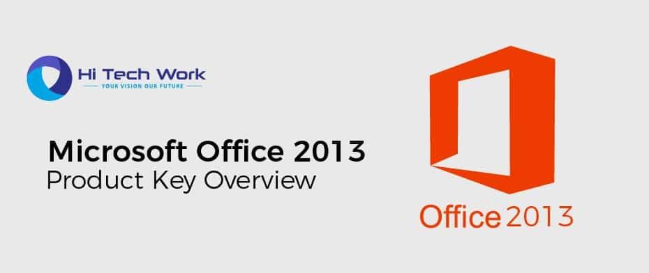 Microsoft Office 2013 Product Key