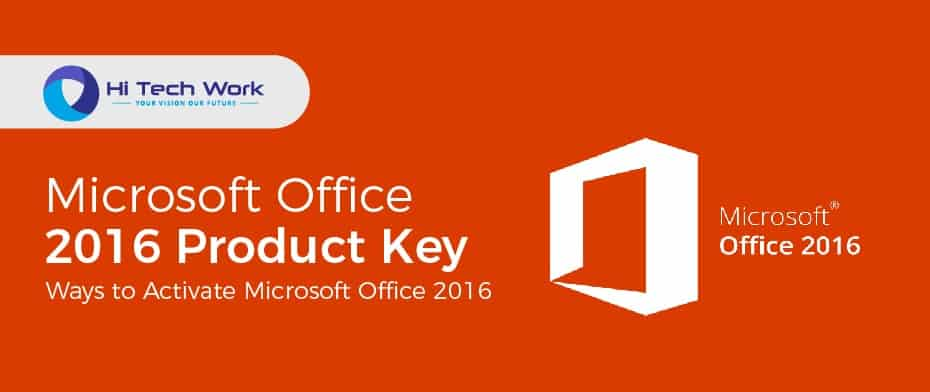 Microsoft Office 2016 Product Key Crack Serial Number