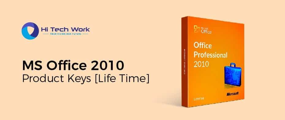 Microsoft Office Professional Plus 2010 Product Key 64 Bit