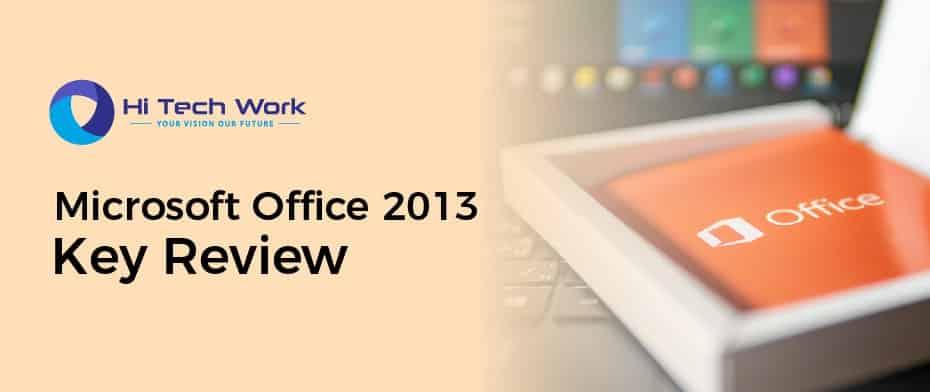 Microsoft Office Professional Plus 2013 Product Key