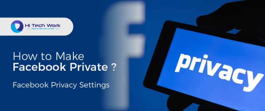 how to make my facebook private