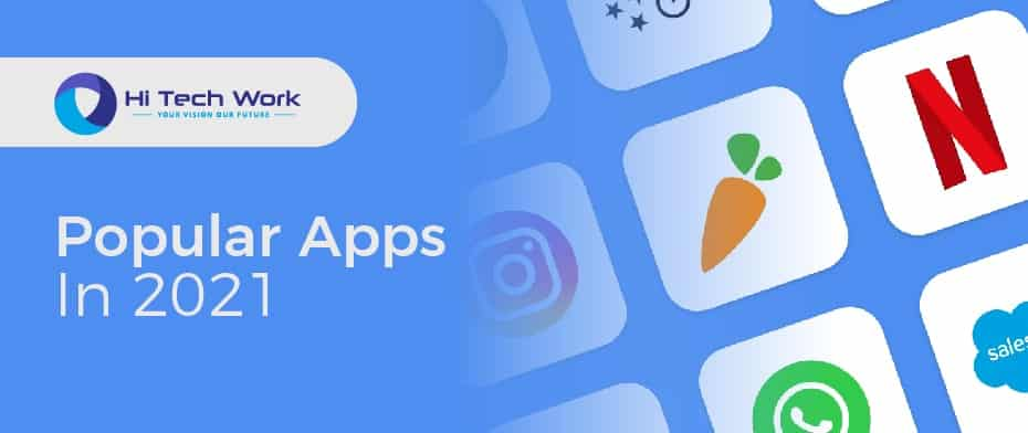 most popular apps