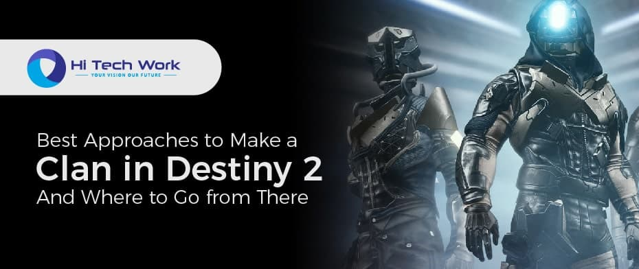 How To Make A Clan In Destiny 2 Beta