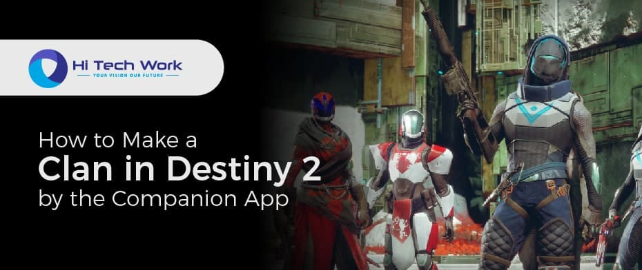 How To Make A Clan In Destiny 2 Pc