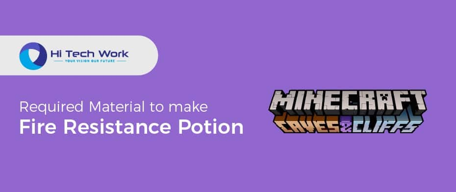 How To Make A Fire Resistance Potion