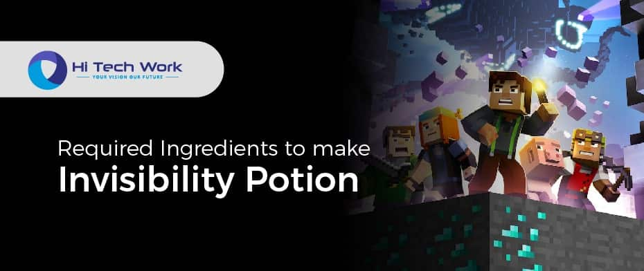 How To Make A Potion Of Invisibility