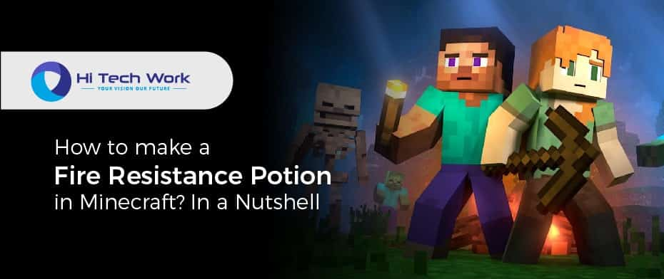 How To Make Fire Resistance Potion