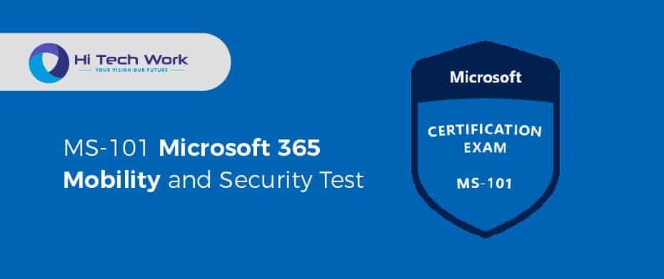 MS-101 Microsoft 365