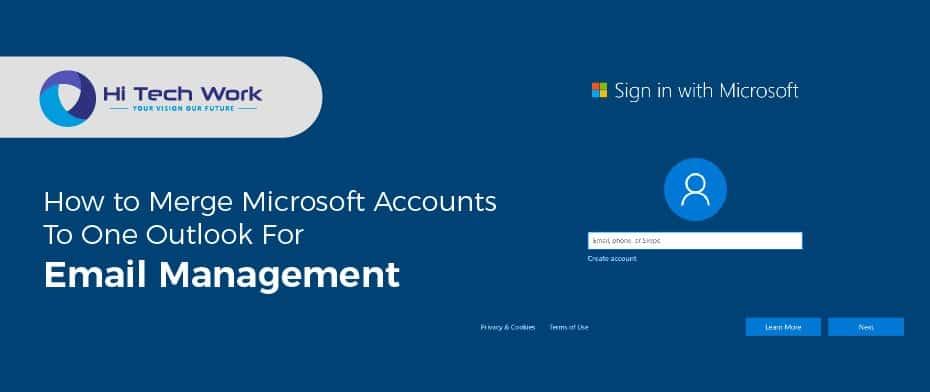 Merge Microsoft Accounts