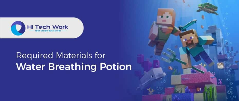 how to make water breathing potion