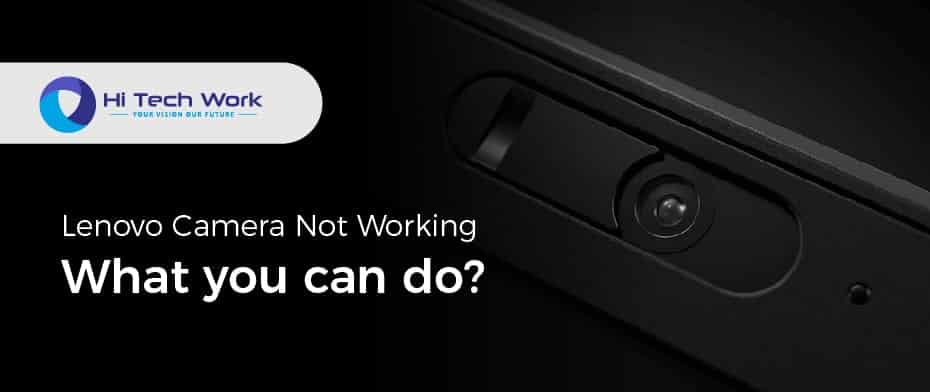 laptop camera not working lenovo