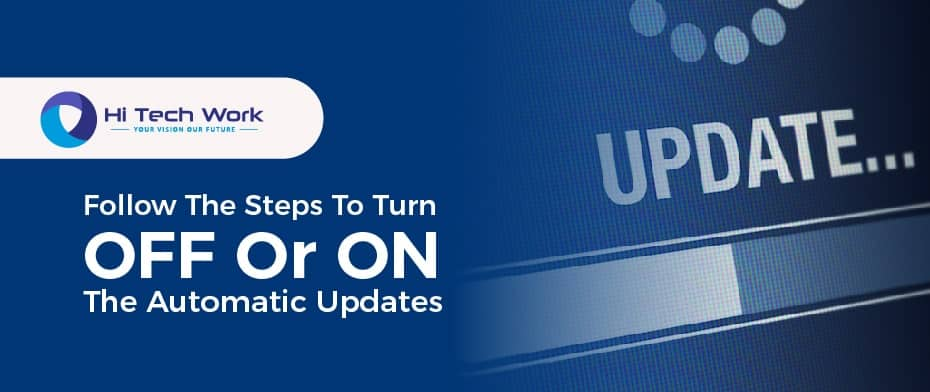 How To Turn Off Automatic Updates On Iphone