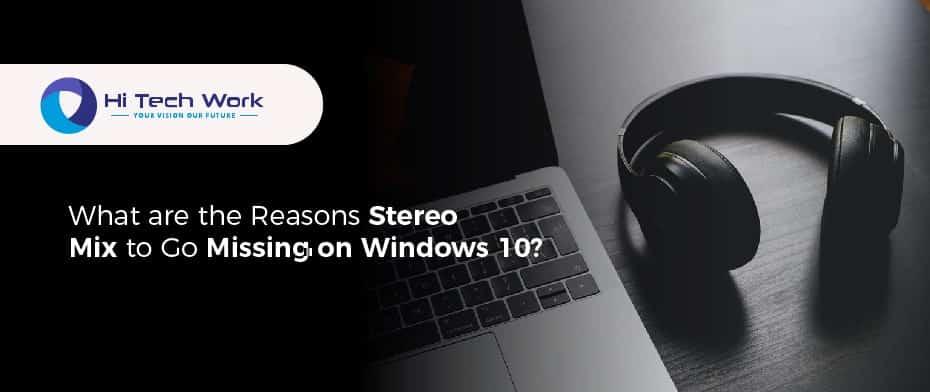 Stereo Mix Windows 10
