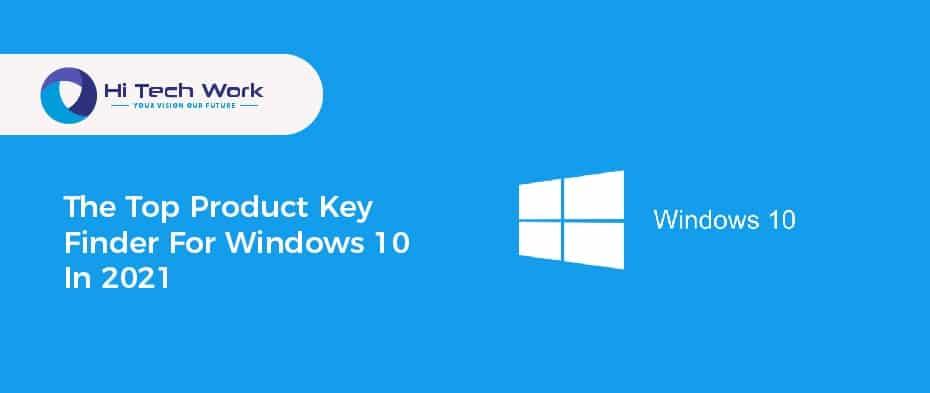 Windows 10 Product Key Finder