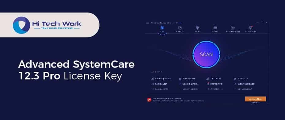 Advanced Systemcare 12.3 Serial Key