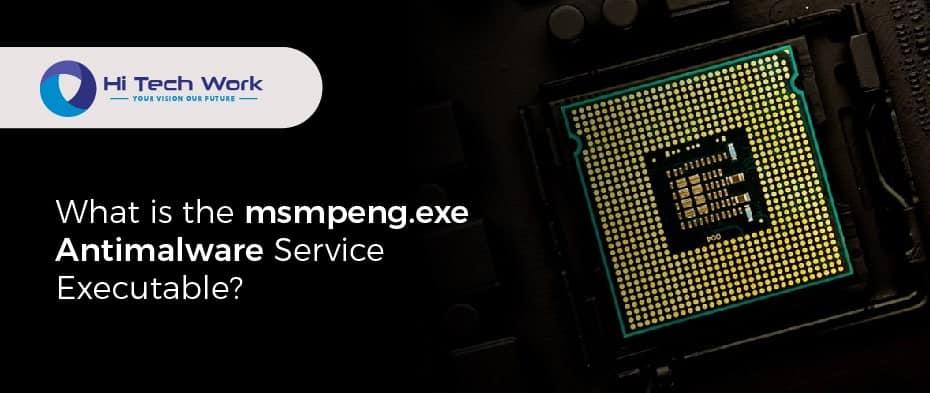 Antimalware Service Executable High Cpu