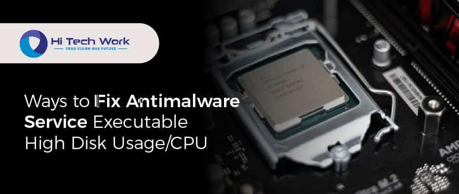 Antimalware Service Executable