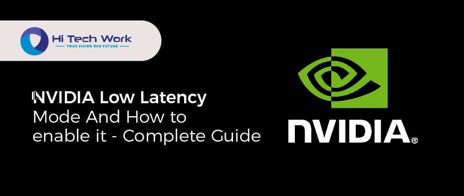 NVIDIA Low Latency Mode