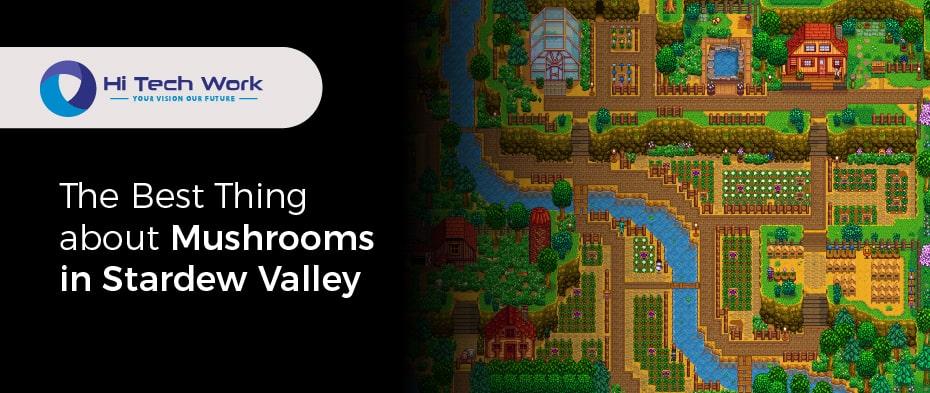 Mushrooms Or Fruit Bats Stardew Valley