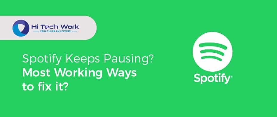 My Spotify Keeps Pausing