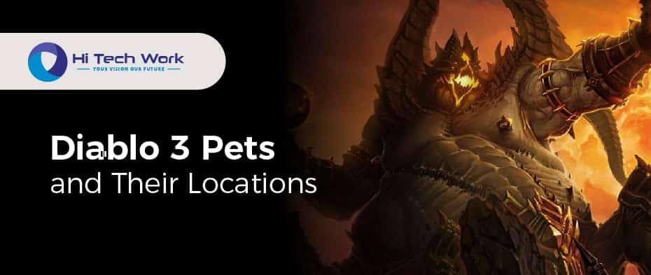 Pets Diablo 3